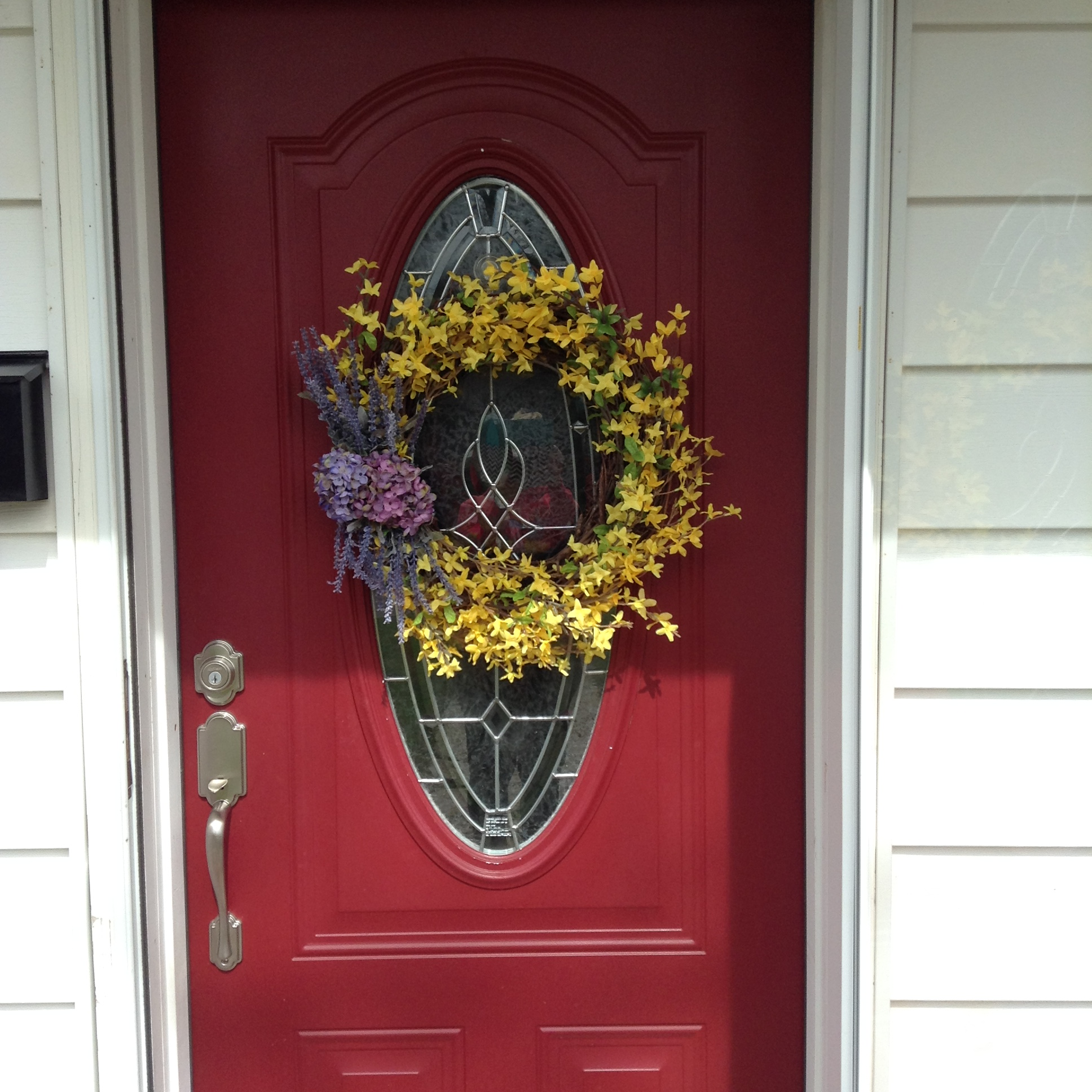 Wreath On Red Door Images Pocket Sliding Door
