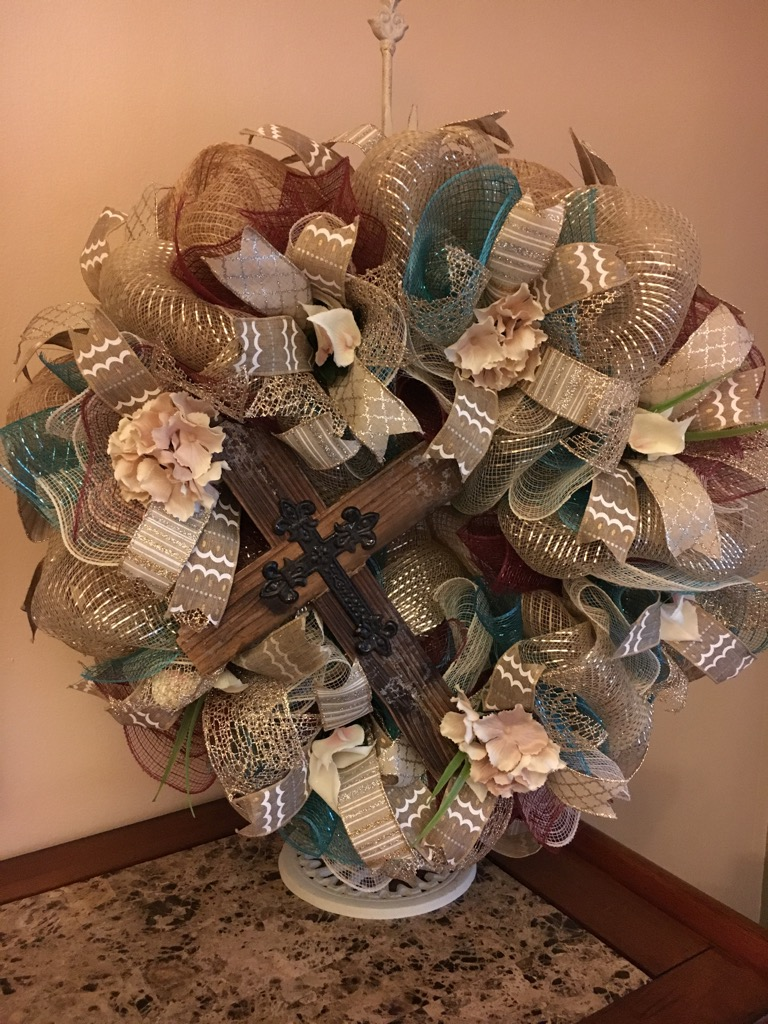 ... Wreaths. ;  & Wreaths Door Wreaths Front Door Wreaths Deco Mesh Wreaths Cross ...