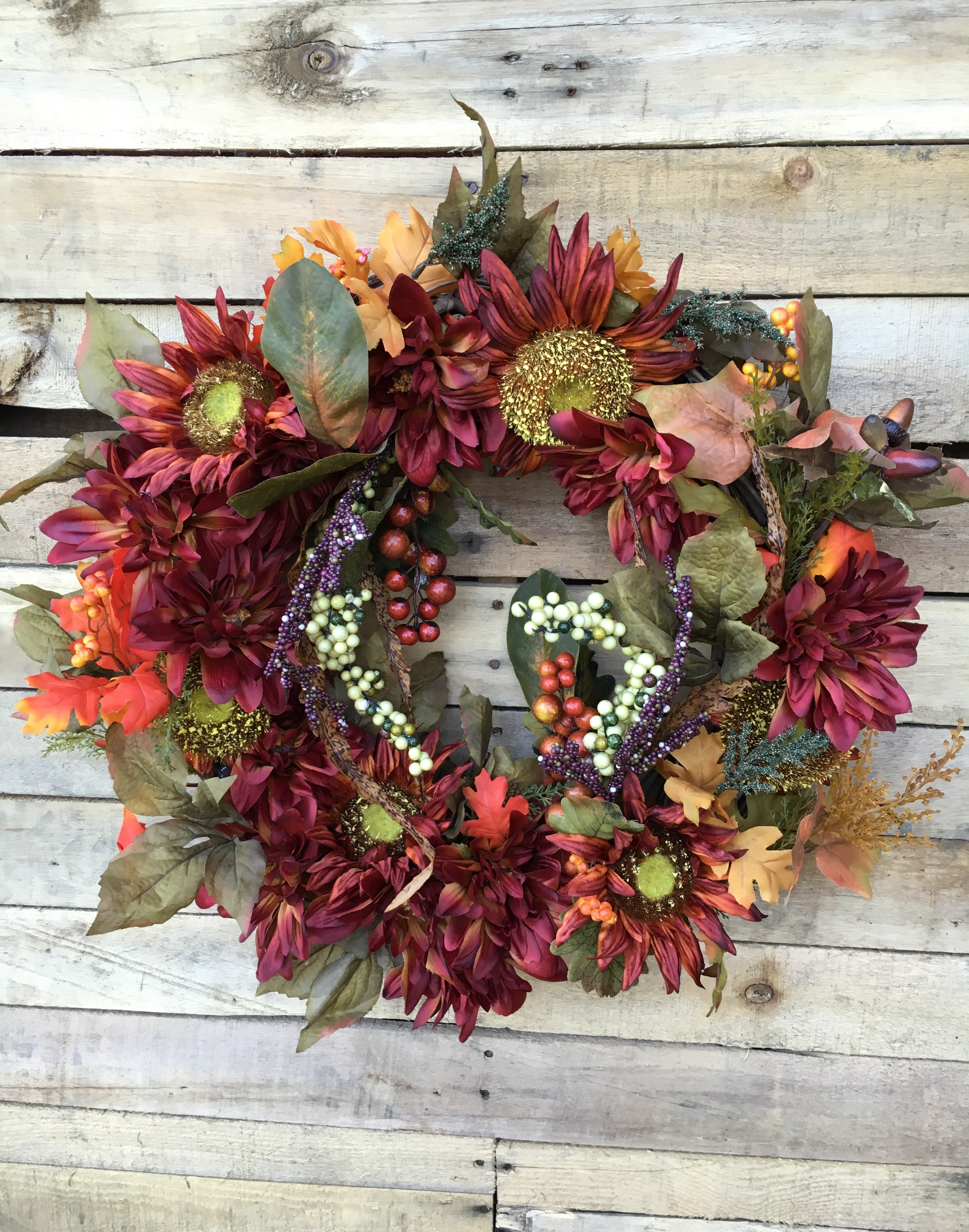... Fall Sunflowers Wreaths, Fall Flowers, Fall Mums. ; 