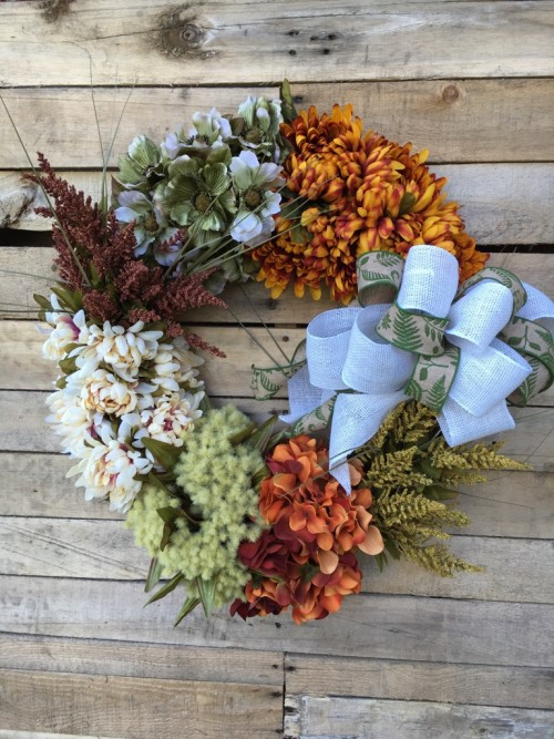 fall-flowers-with-bow
