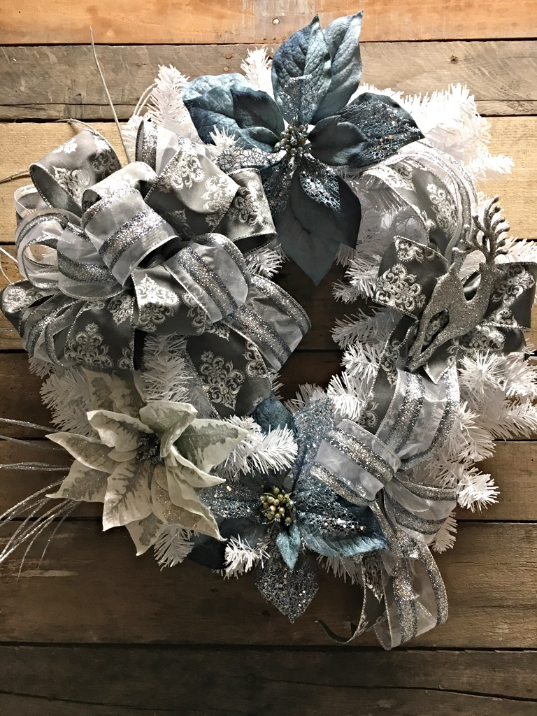 Christmas Wreath Decorative Wreath Holiday Wreath White Pine