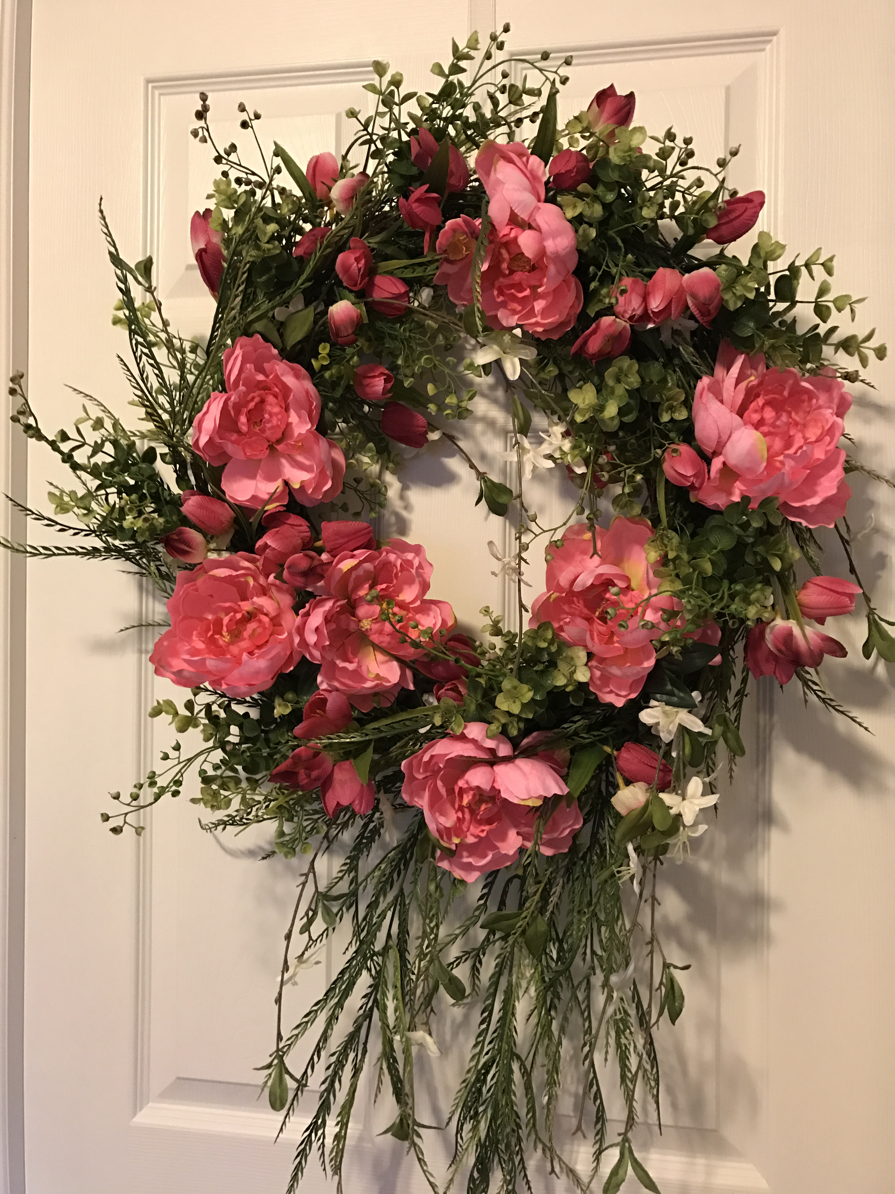 Door Wreath Decorative Wreath Spring Wreath Valentines