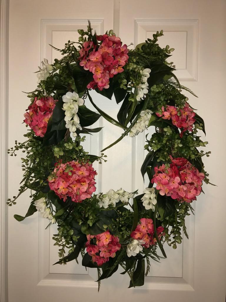 Half Off Front Door Wreath Decorative Wreath Everyday