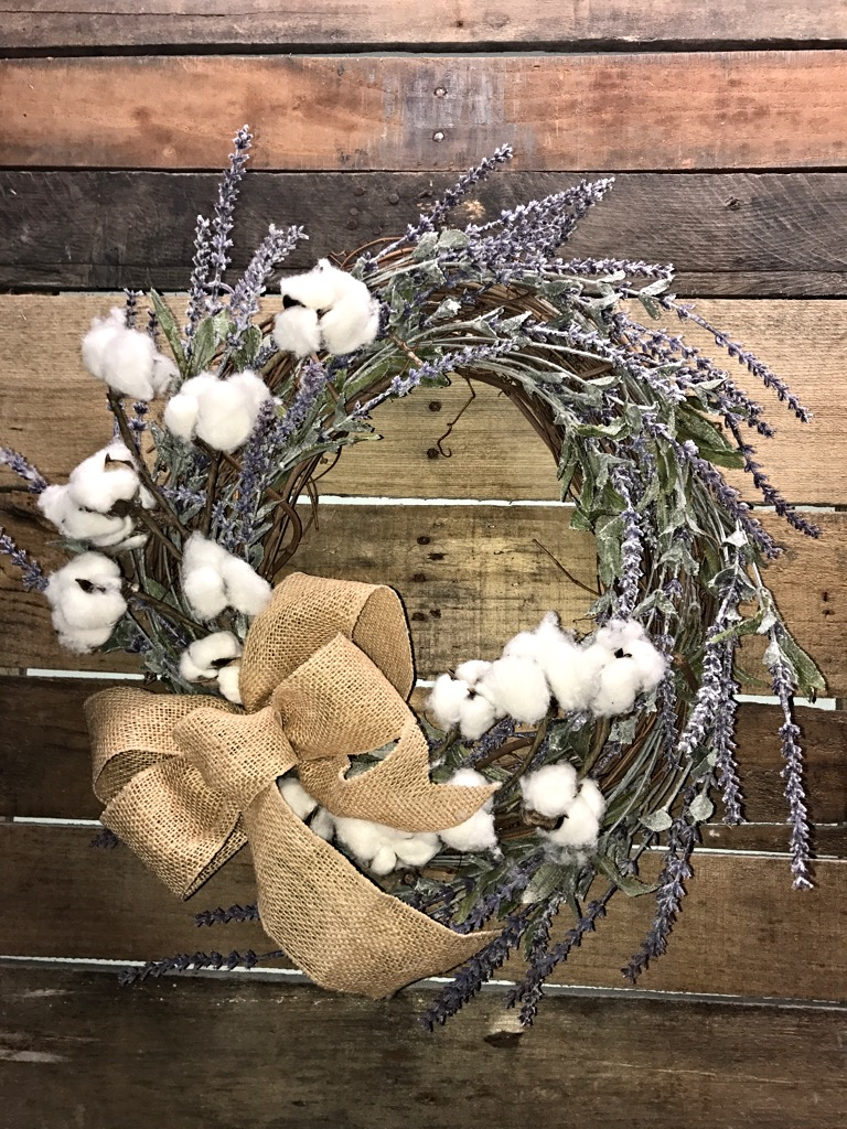 Rustic Style Wreath Farmhouse Style Wreath Small Rustic