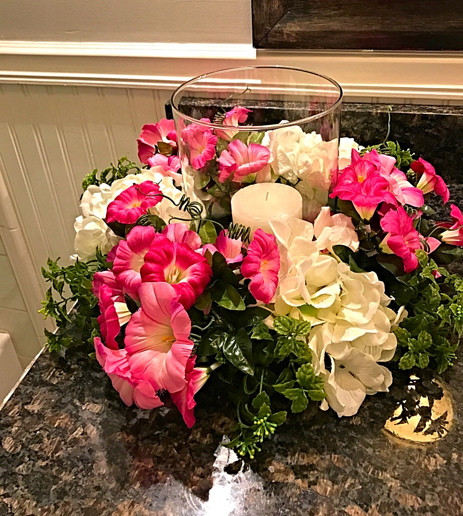 Spring centerpiece floral home