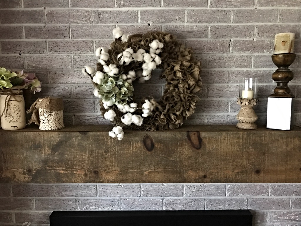 Rustic Burlap Wall Decor : Burlap wreath decorative home d?cor everyday