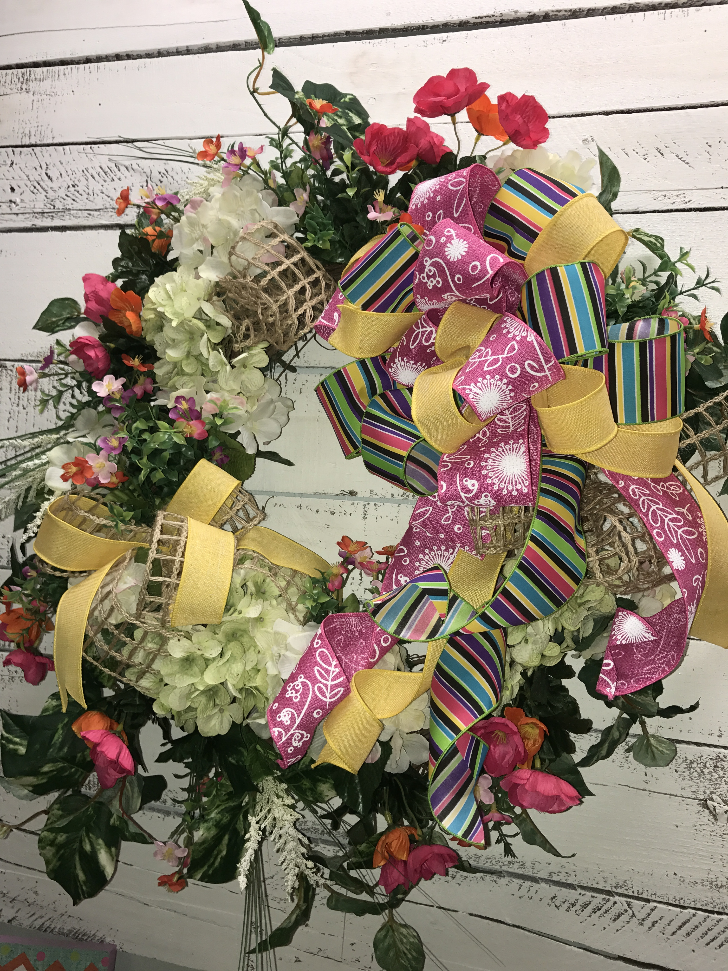 Beautiful Spring Wreath Summer Wreath Front Door Wreath