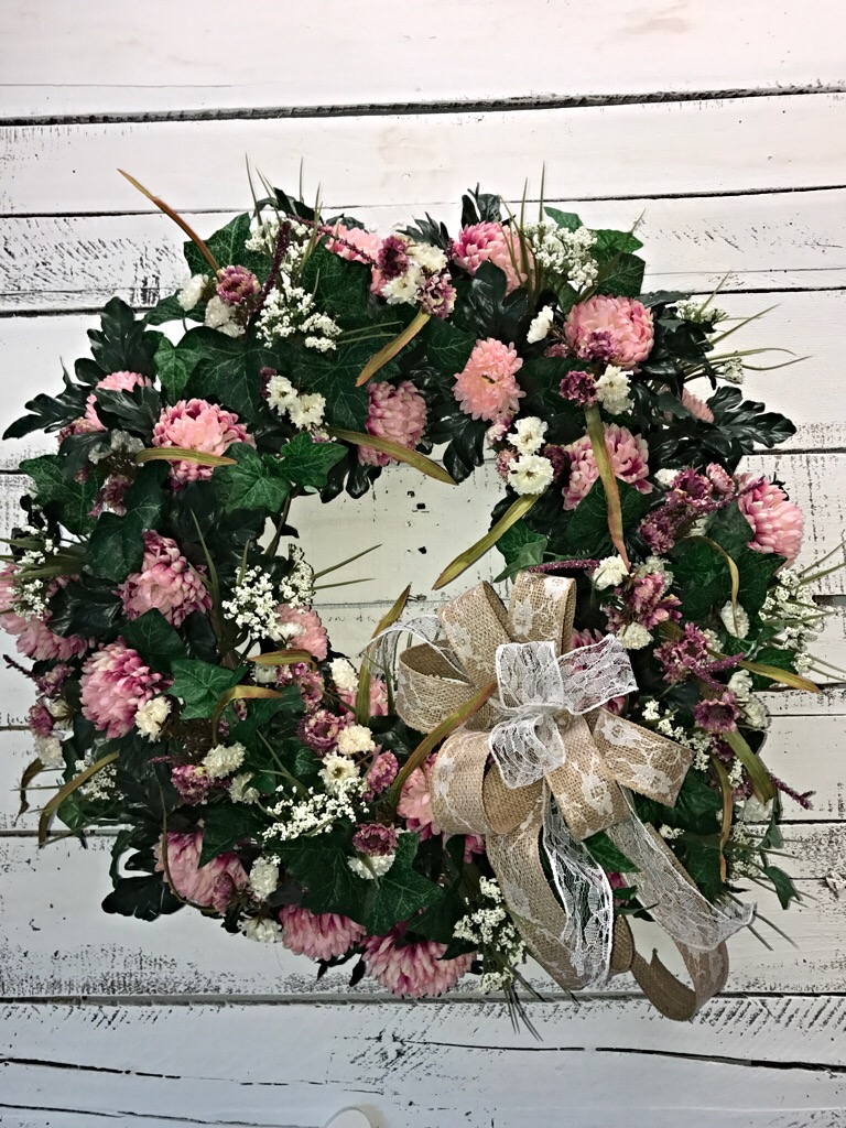 Sensational Springsummer Wreath To Add Elegance And Class To Your