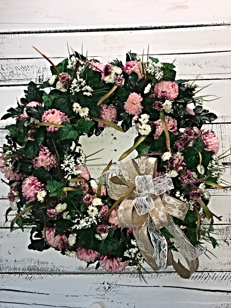 Sensational Spring Summer Wreath To Add Elegance And Class To Your