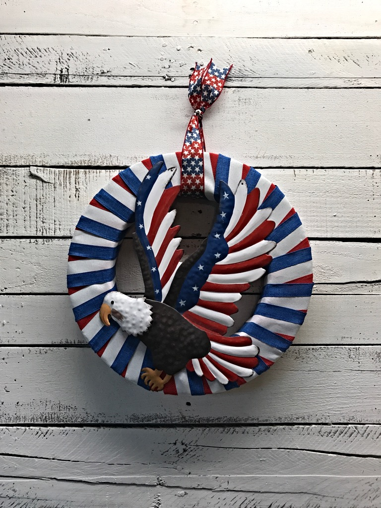 Patriotic Wreath Summer Wreath Summer Patriotic Wreath