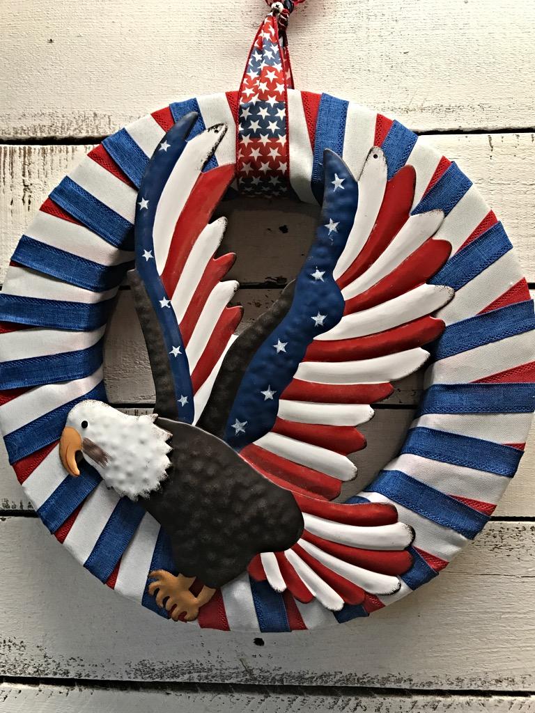 patriotic wreaths for front doorPatriotic Wreath Summer Wreath Summer Patriotic Wreath