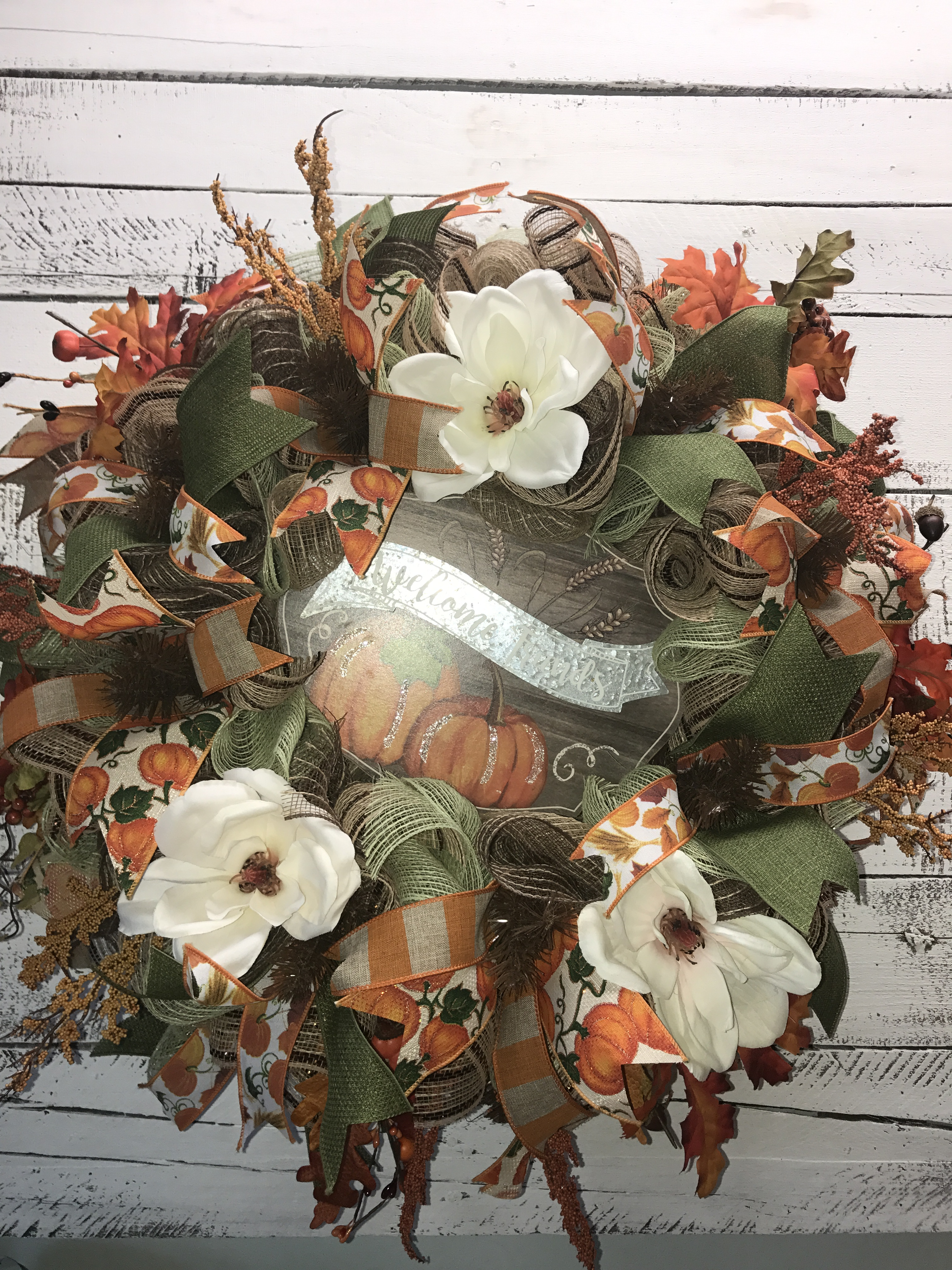Fall Wreath Fall Door Wreath Large Fall Wreath For Front