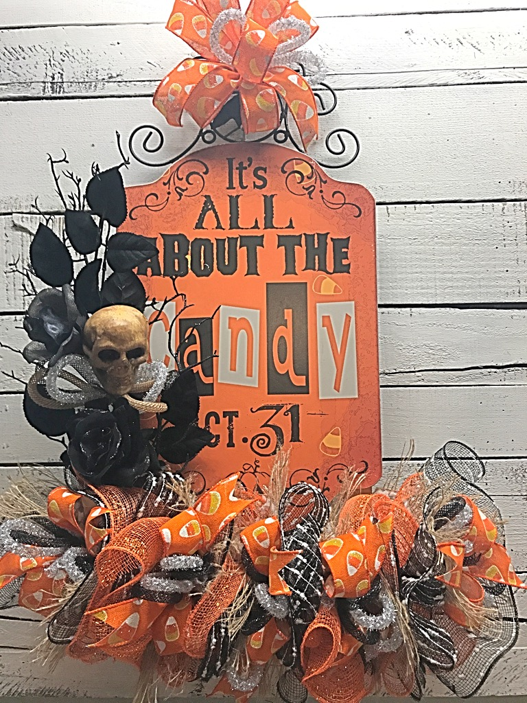 halloween, halloween door hanger, halloween decoration, halloween