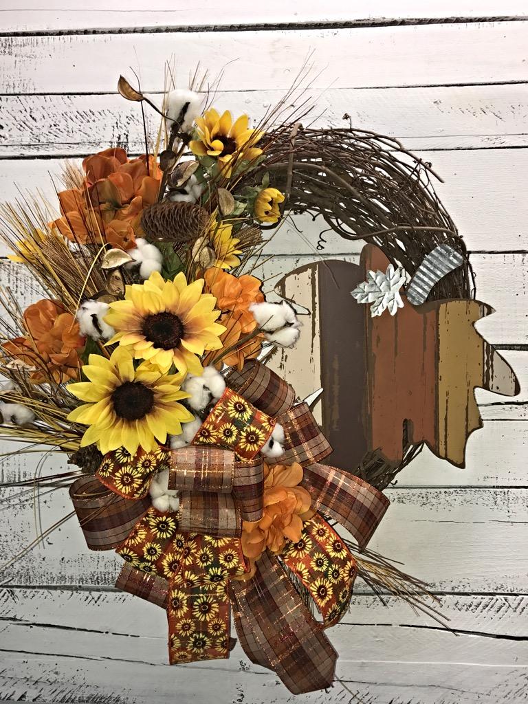 Fall Wreath, Fall Door Wreath, Fall Wreath for Front Door ...