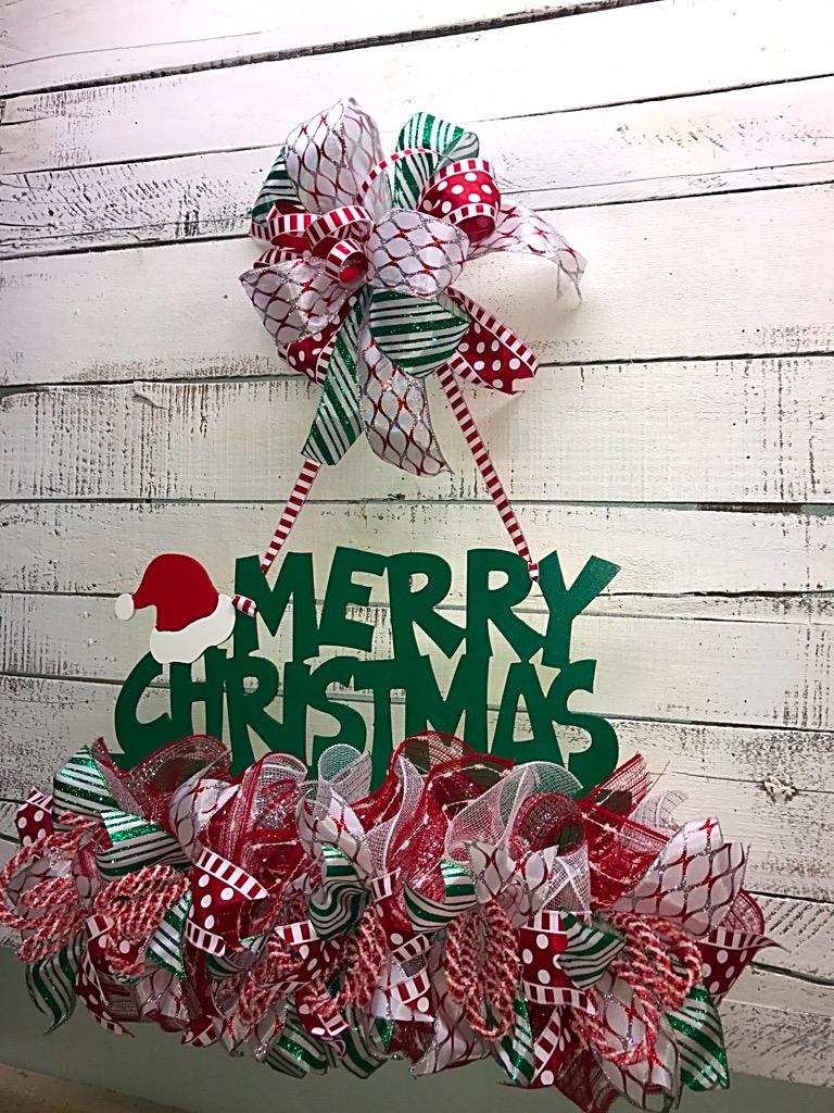 Christmas Door Hanger, Christmas Door Décor, Holiday Door Hanger, Front Door Christmas Decoration, Merry Christmas Door Hanger, Holiday Decorations, ...