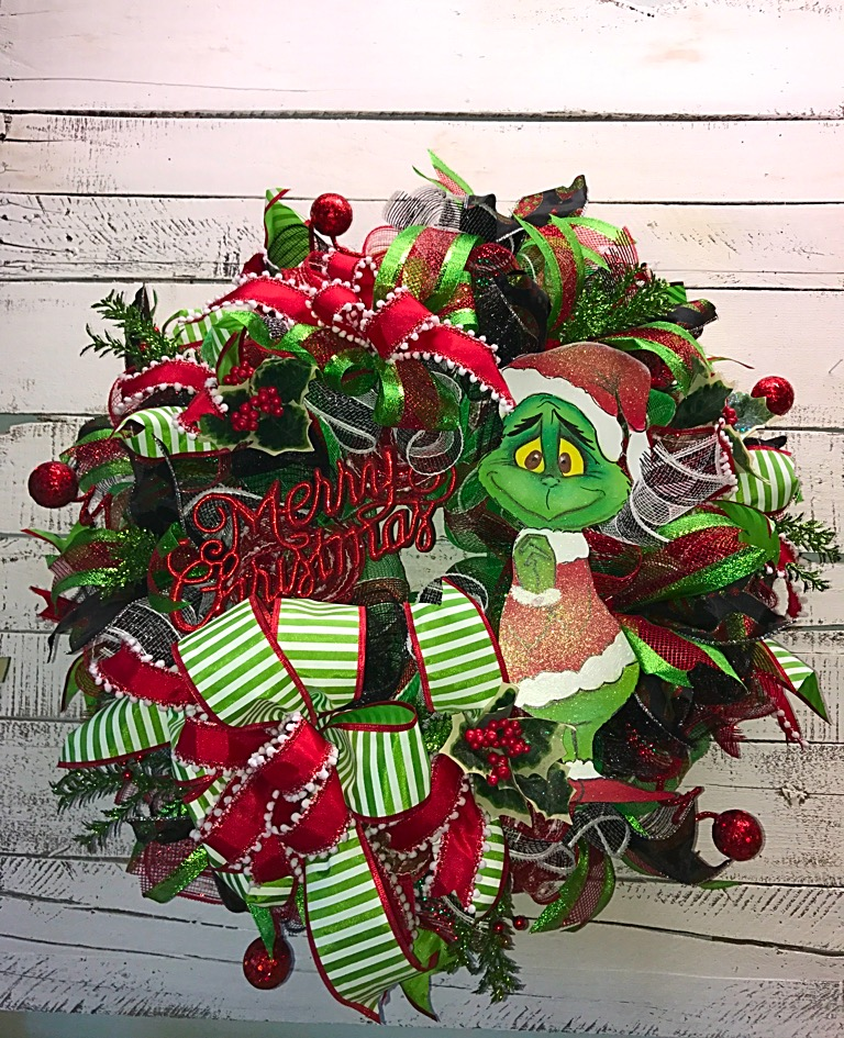 Christmas Decorations The Grinch: Christmas Wreath, The Grinch Christmas Wreath, Christmas