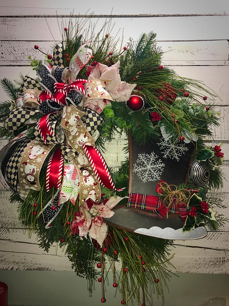 Christmas Decorative Wreath Home Decor