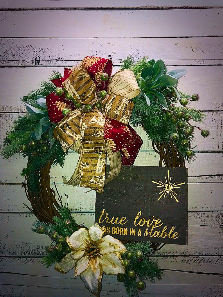 Christmas Wreath Holiday Wreath Christmas Decor