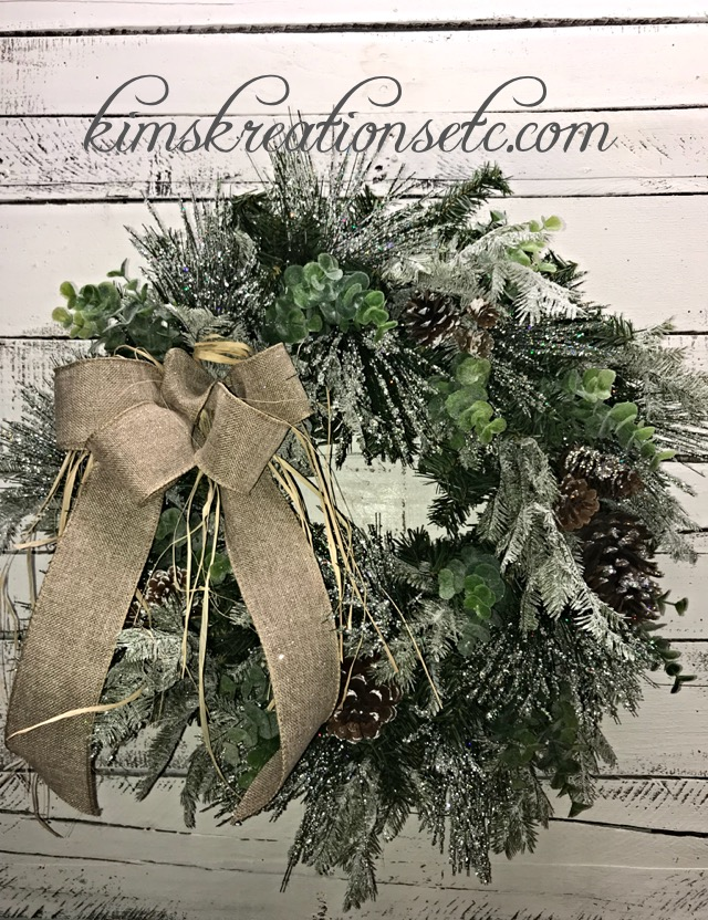 Holiday Home Decor Christmas Decorative Wreath