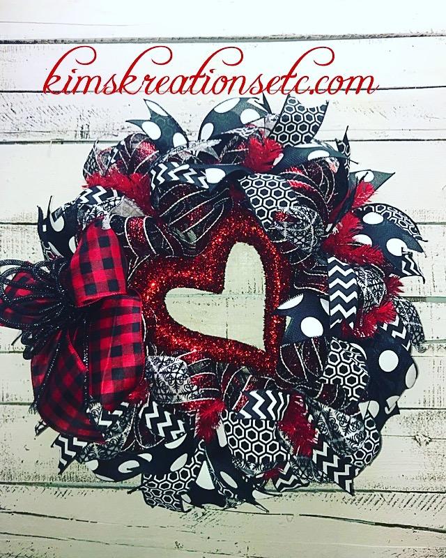 Valentine S Day Wreath Valentines Wreath Heart Wreath Valentines