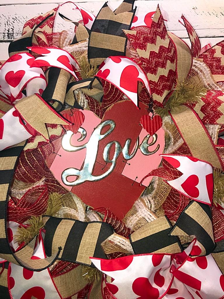 Valentines day wreath valentines day valentines wreath rustic valentines decor home decor front door wreath decorative wreath 20180104021716333ios 20180104021728315ios 20180104021750341ios rubansaba