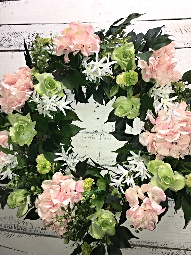 Spring Wreath Spring Hydrangeas Wreath Spring Wreath for Front