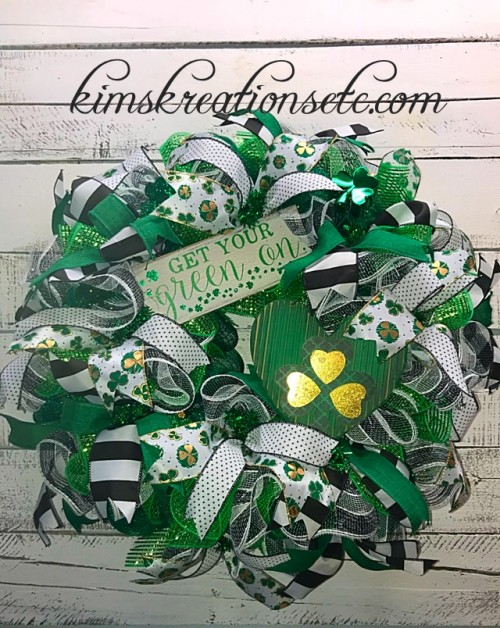 ST PAT GET YOUR GREEN ON