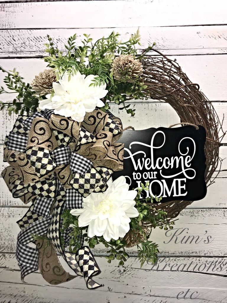 Decorative Wreath Handmade