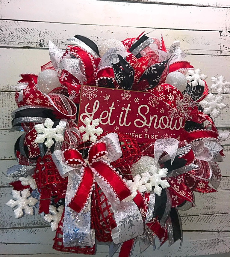 christmas decor sparkly wreath handmade wreaths wreaths for sale