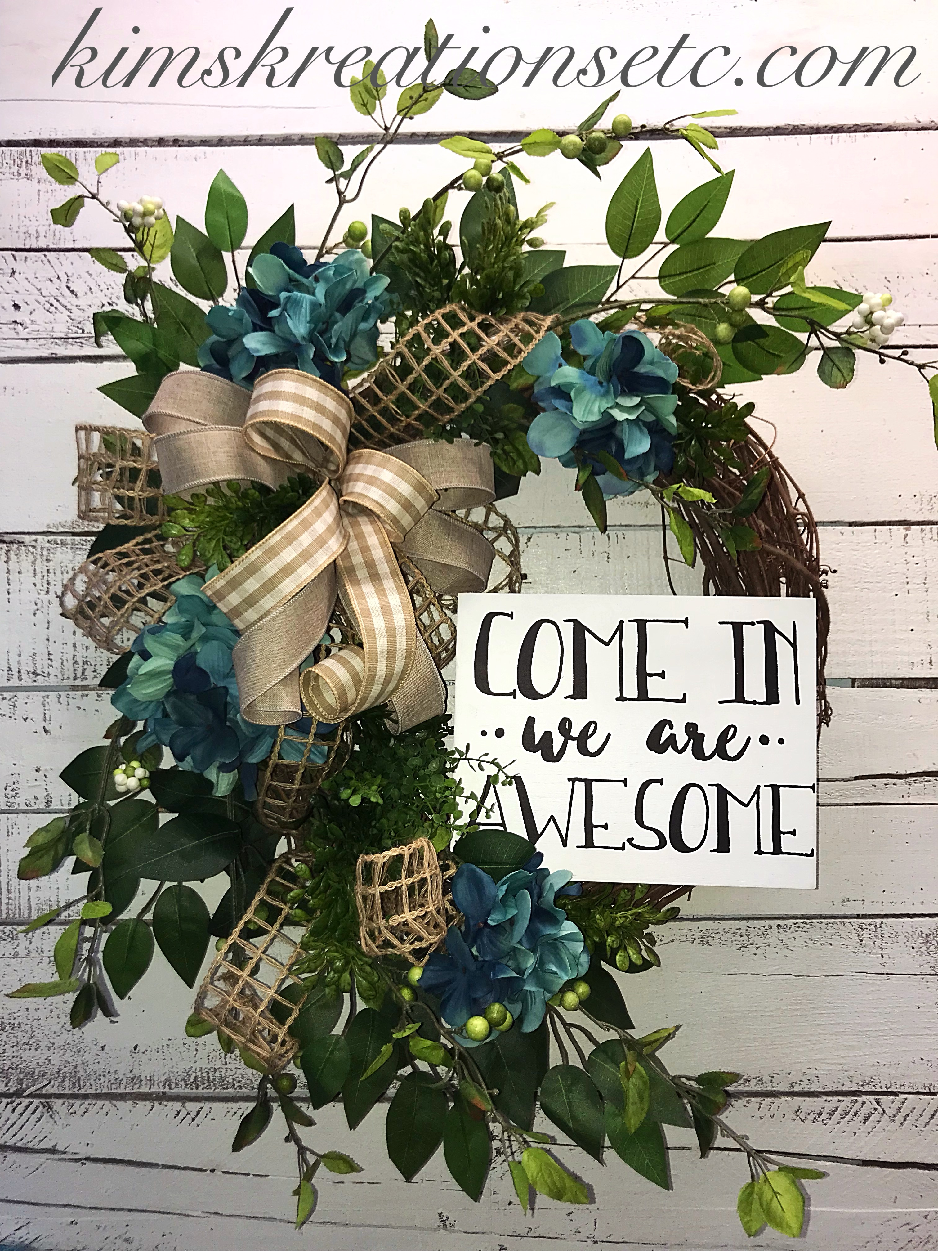 Everyday Wreath Spring Wreath Summer Wreath Welcome Wreath