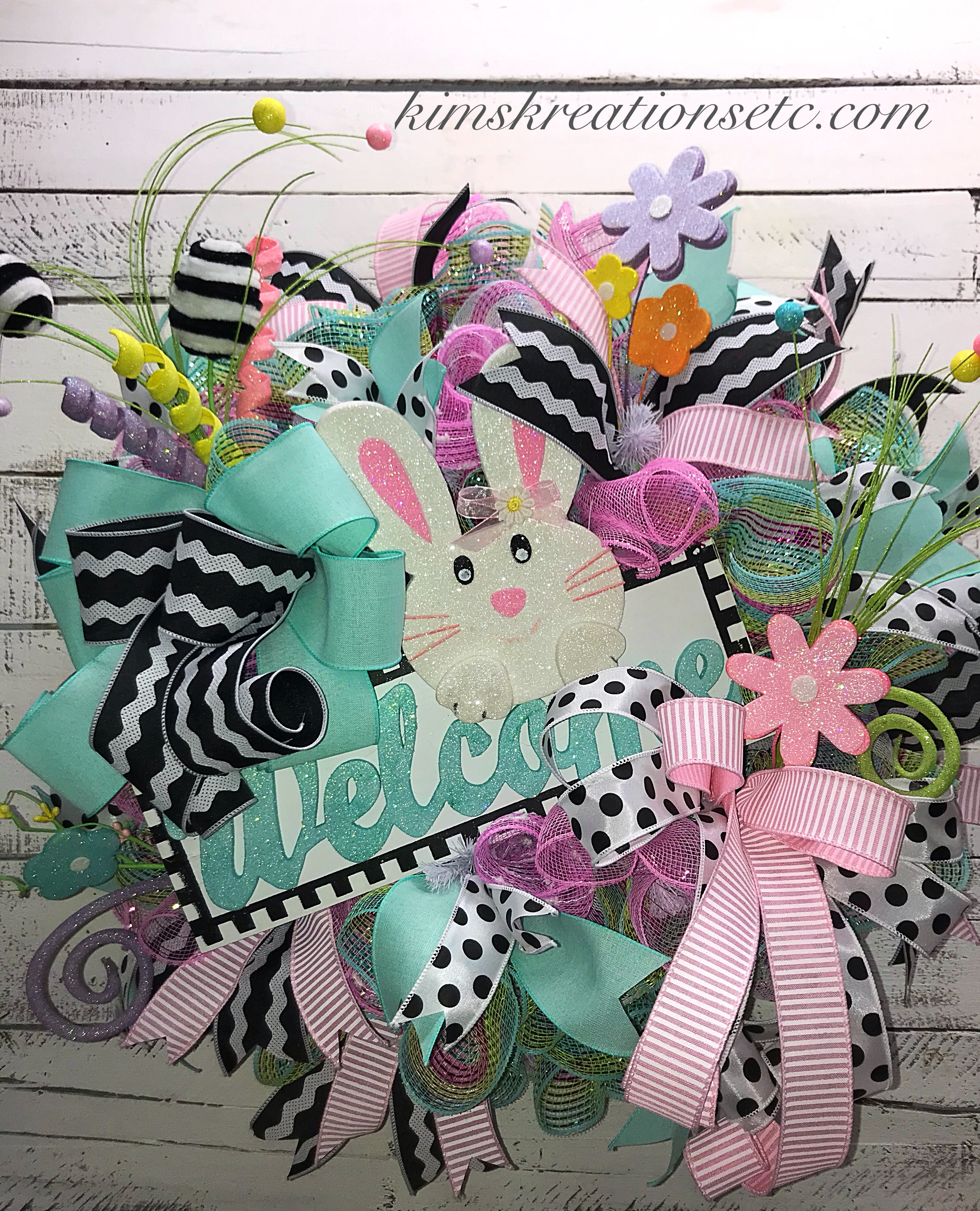 Tremendous Easter Wreath Easter Welcome Wreath Pastel Easter Wreath Spring Wreath Easter Wreath For Front Door Bunny Wreath Easter Decor Home Decor Complete Home Design Collection Epsylindsey Bellcom