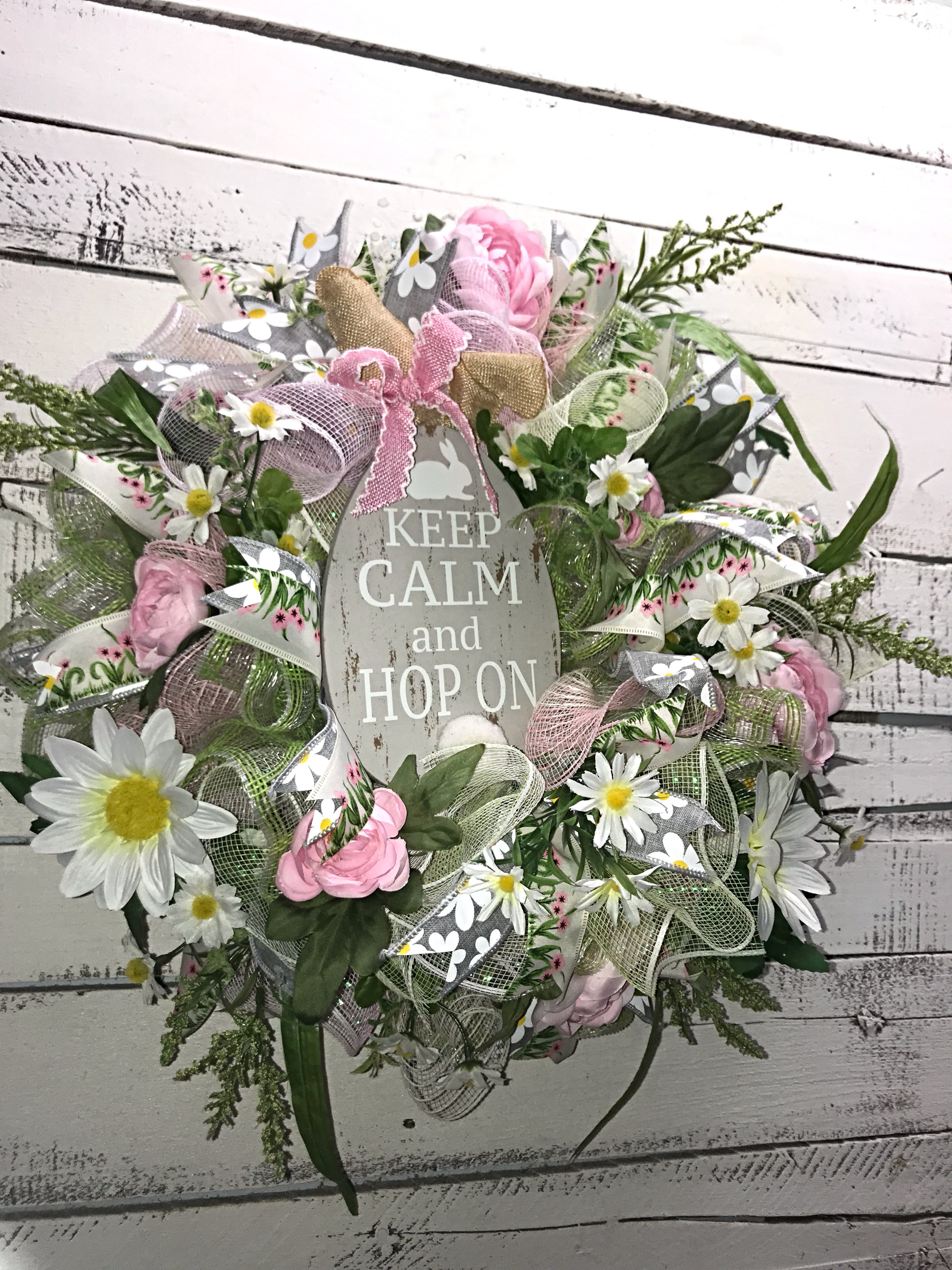 Easter Wreath, Small Easter Wreath, Pastel Colors, Easter ...