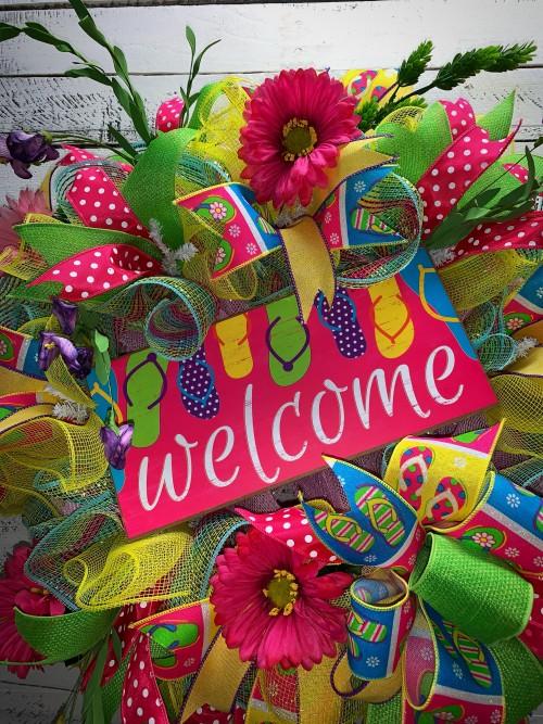 455da9079698 Summer Wreath